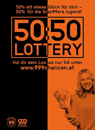 999Chancen - 50:50 Lotery - Moser Medical Graz99ers